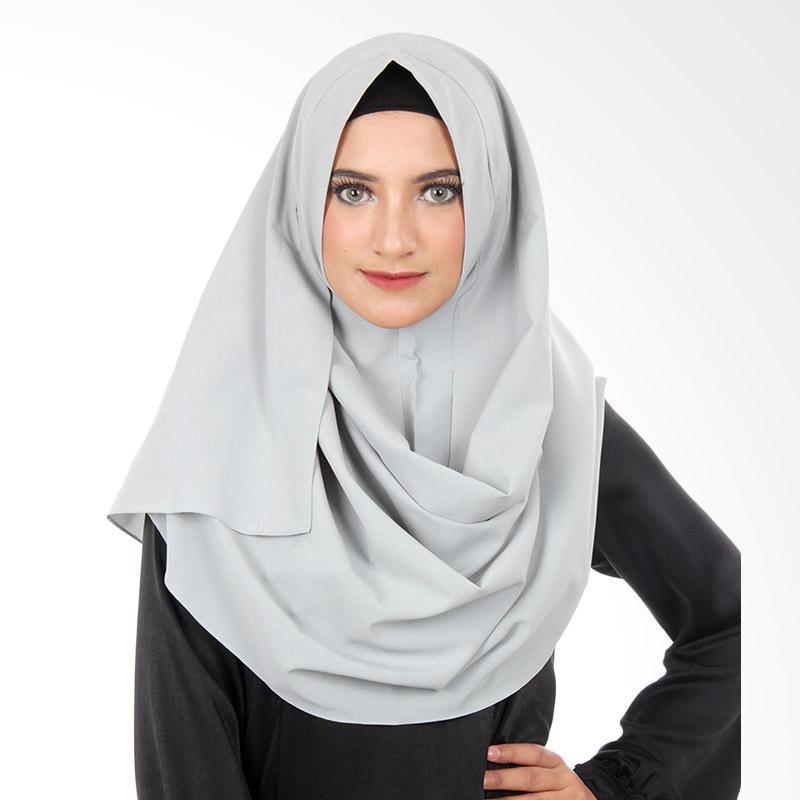 Cantik Kerudung Ariana Jilbab Instant - Medium Grey