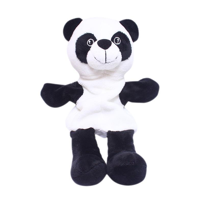 Istana Kado IKO00753 Hand Doll Binatang Panda Animal Boneka Tangan