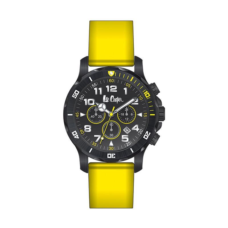 Lee Cooper Quartzm LC-20G-E Jam Tangan Pria - Kuning [One Size]
