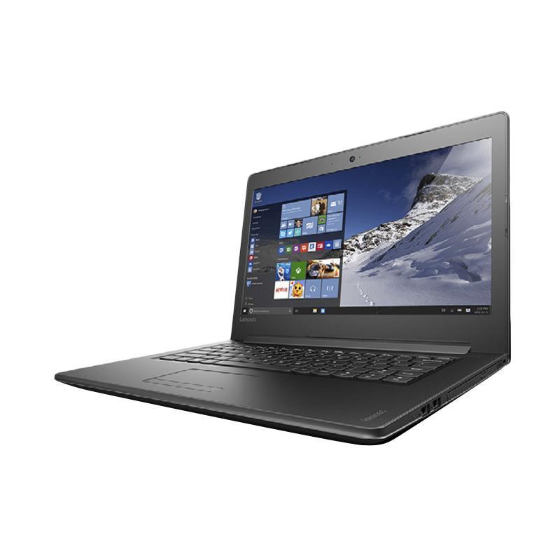 harga Lenovo IdeaPad 310 Notebook - Hitam [Intel Core I5-7200U/4GB/Nvidia GeForce 920A 2GB/14 Inch/Win10] Blibli.com