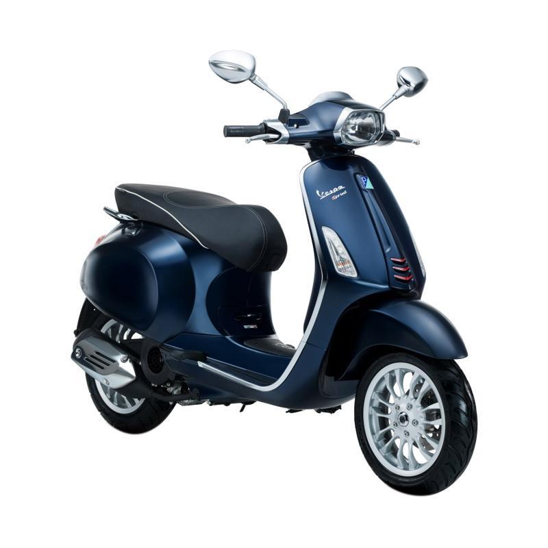 harga Vespa Sprint 150 i-Get Sepeda Motor - Blu Midnight [OTR Semarang] Blibli.com