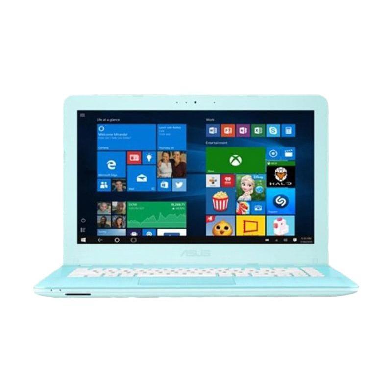 Asus  X441UA-WX099T Notebook - Aqua Blue [14 Inch/i3-6006U/4GB-Win 10]