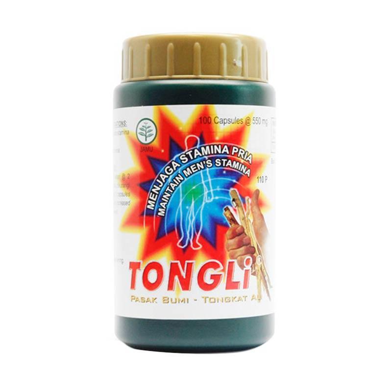 Borobudur Herbal Tongli Multivitamin [100 Kapsul]