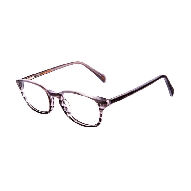 Franc Nobel Unisex Louise Light Howlite 041516 Kacamata - Grey