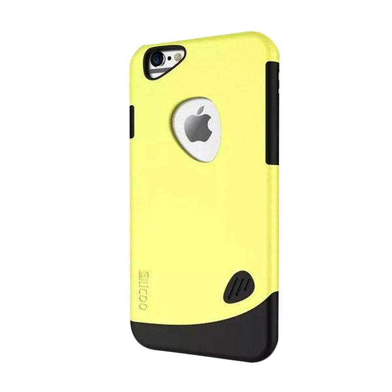 KIM Slicoo Frosted Side Hardcase Casing for Apple iPhone 6 - Kuning