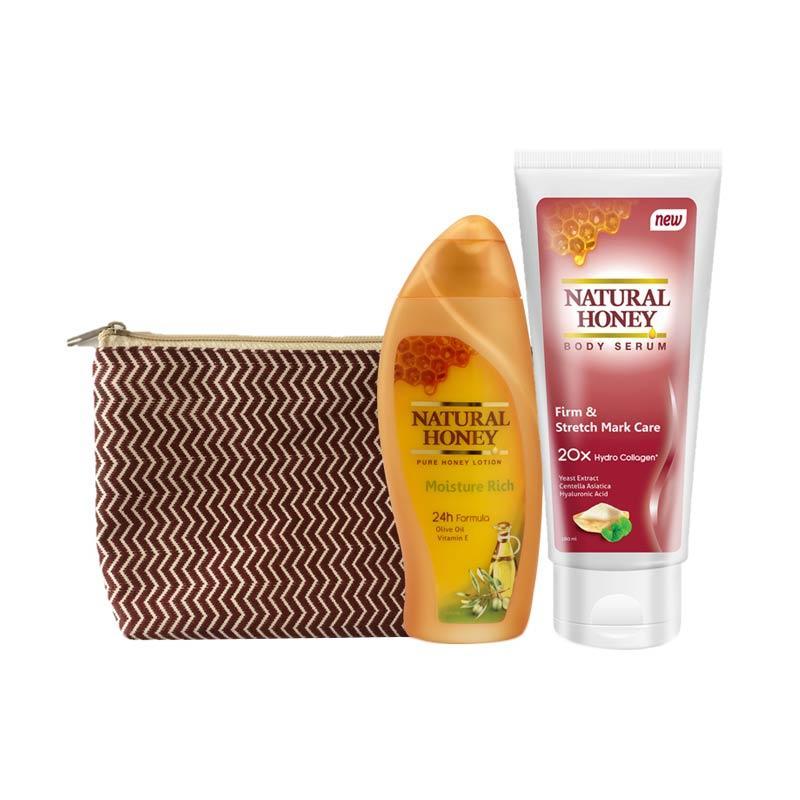 Natural Honey Body Serum & Moisture Rich Lotion