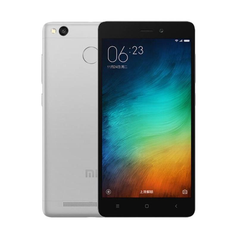 Xiaomi Redmi 3S Pro Smartphone - Grey [32 GB/3 GB/Garansi Resmi TAM]
