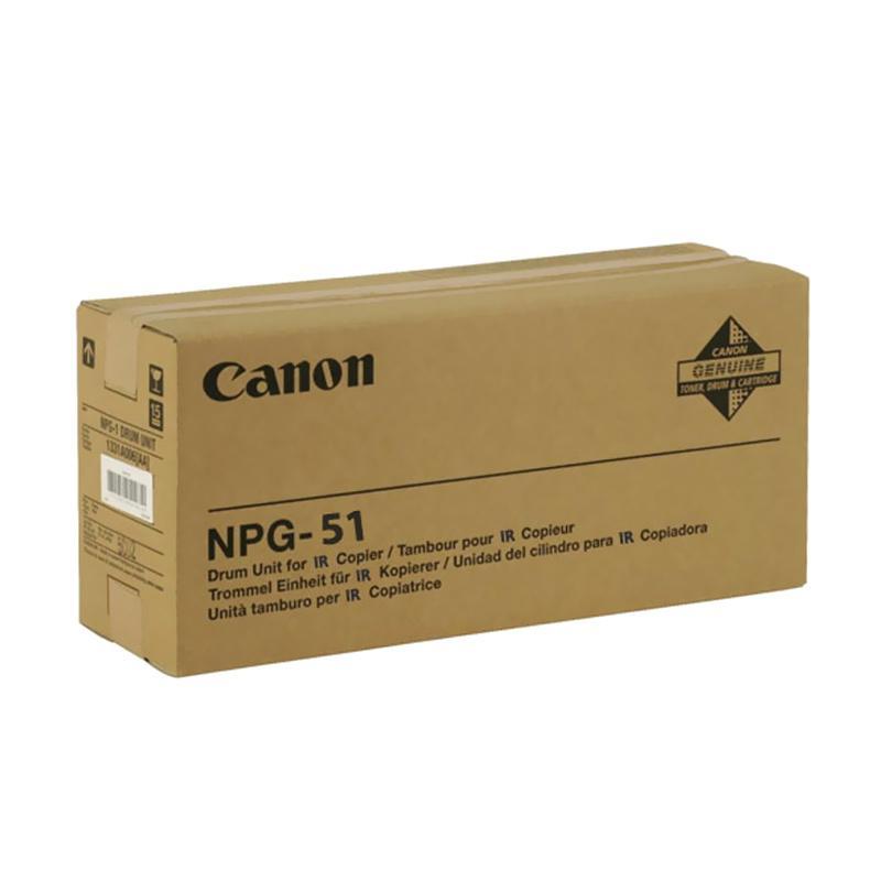 Canon Original Drum NPG 50-51 for Mesin Fotocopy IR2535 or IR2545 - Black