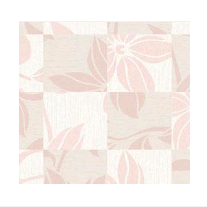 Hyundae Fixpix HDG 12030 Flower Wallpaper - Pink [50 cm x 15 m]