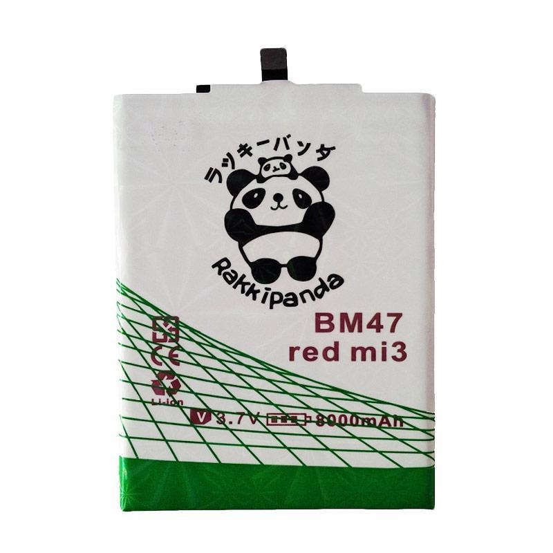 RAKKIPANDA Double Power and IC Battery for Xiaomi Redmi 3S