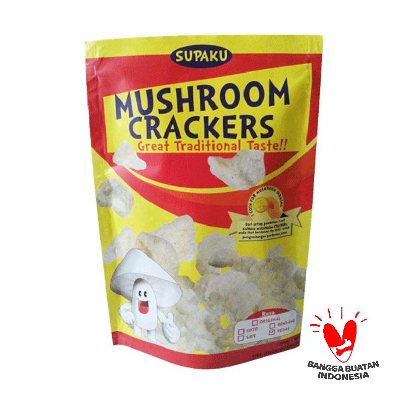 Supaku Mushroom Crackers Rendang Kerupuk Jamur Tiram