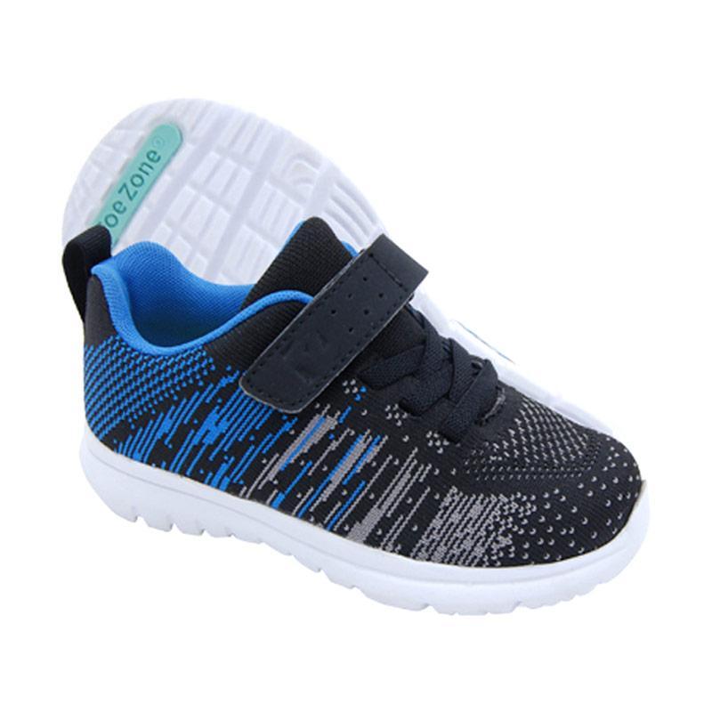 ToeZone Kids Tanner Ch Sepatu Anak Laki-Laki - Black Blue