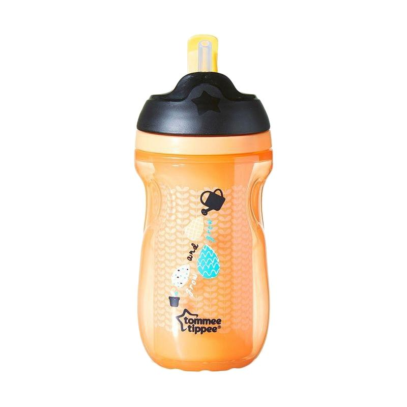 Tommee Tippee Active Insulated Straw Cup - Orange [12m+]