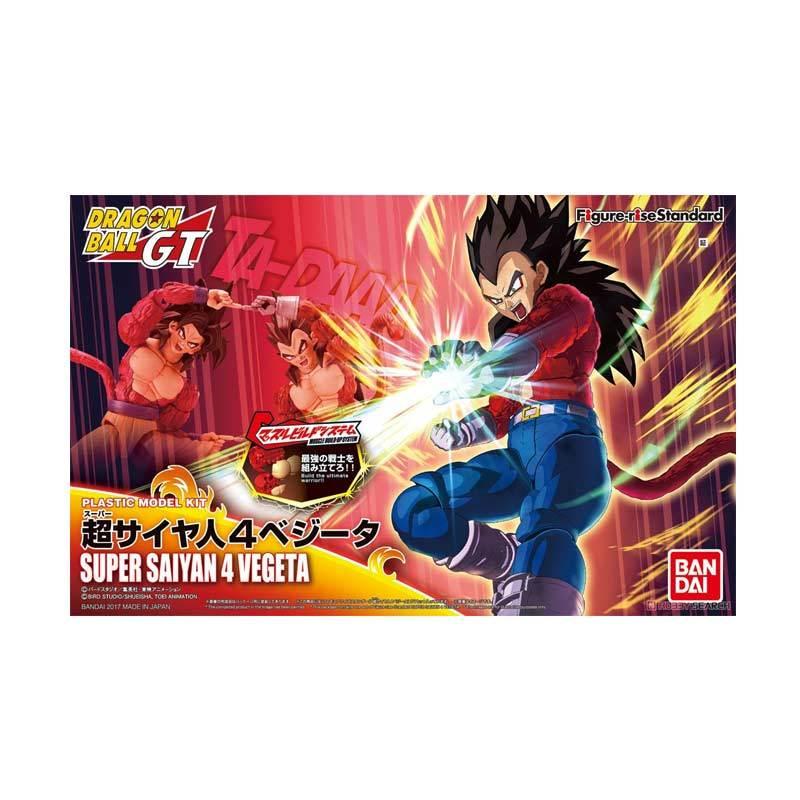 Bandai Figure-rise Standard Super Saiyan 4 Vegeta Action Figure