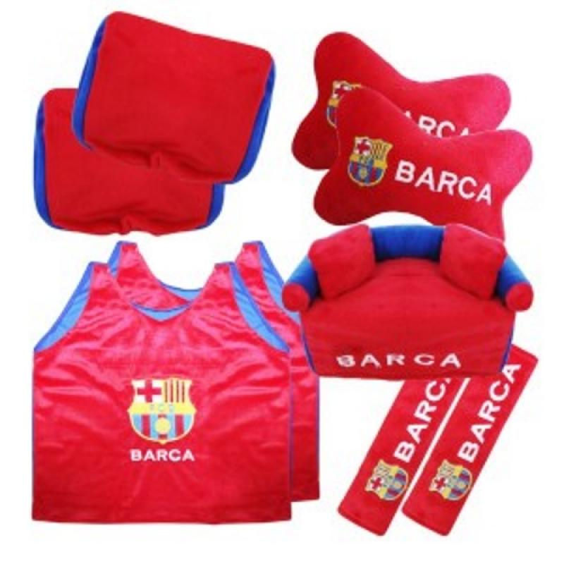 harga HL Fiesta 5in1 Bola Barcelona Aksesoris Interior Mobil - Merah Blibli.com