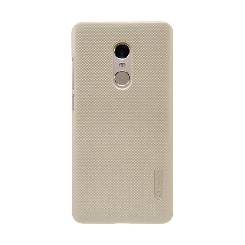 harga Nillkin Frosted Hard Case Xiaomi Redmi Note 4 (Mediatek) Gold Blibli.com