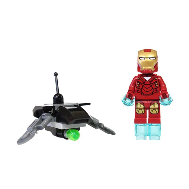 LEGO Marvel Super Heroes Iron Man Drone 30167 Mainan Blok & Puzzle