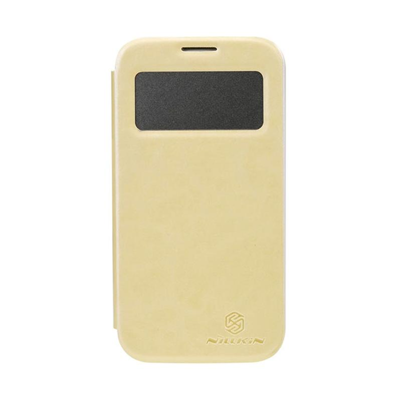 Nillkin Easy Flip Cover Casing for Samsung Galaxy S4 - Cream