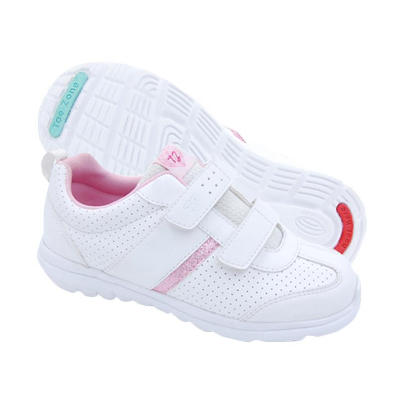 Toezone Kids Tyrell Ch Sneakers Shoes - White Pink