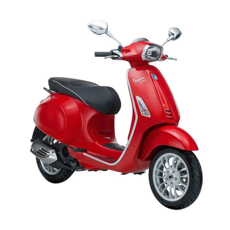 harga Vespa Sprint 150 i-Get Sepeda Motor - Rosso Dragon [OTR Bandung] Blibli.com