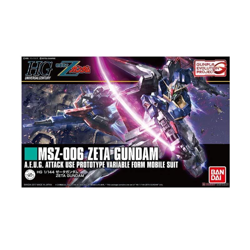 Bandai HGUC Accelerate Evolution Zeta Gundam Revive Model Kit [1:144]