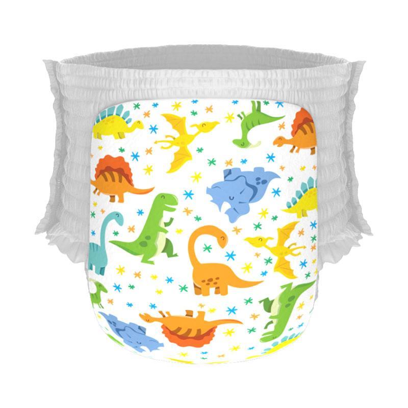 Happy Diapers Pant Popok Bayi - The Good Dinosaurs [M/30pcs]