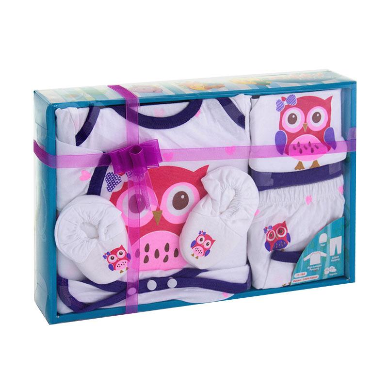 harga Momo Kiddy New OWL 11164 Baby Gift Set Perlengkapan Baju Bayi - Ungu Blibli.com