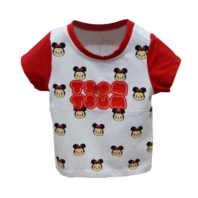 harga Import Kid Motif TsumTsum Baju Atasan Bayi - Red White Blibli.com