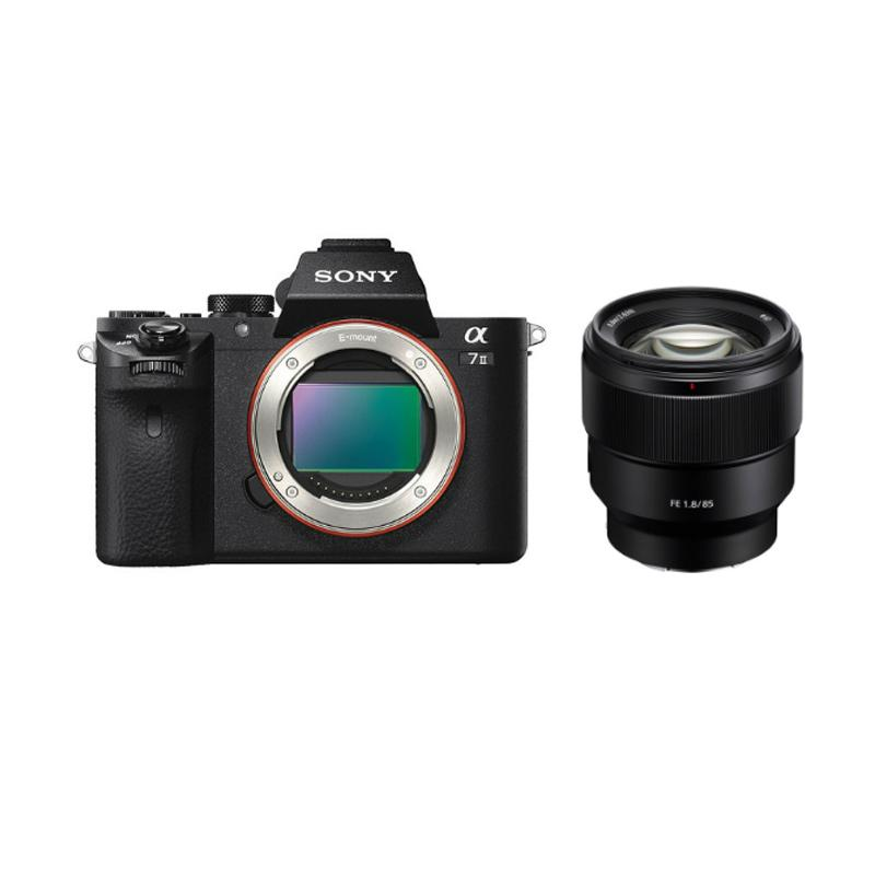 Sony Alpha A7II Body Special Package With FE 85mm f/1.8