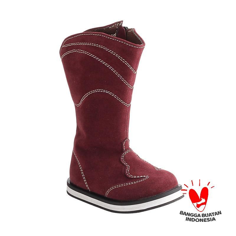 Blackkelly Sabrina LJN 478 Sepatu Boots Panjang Anak - Coklat