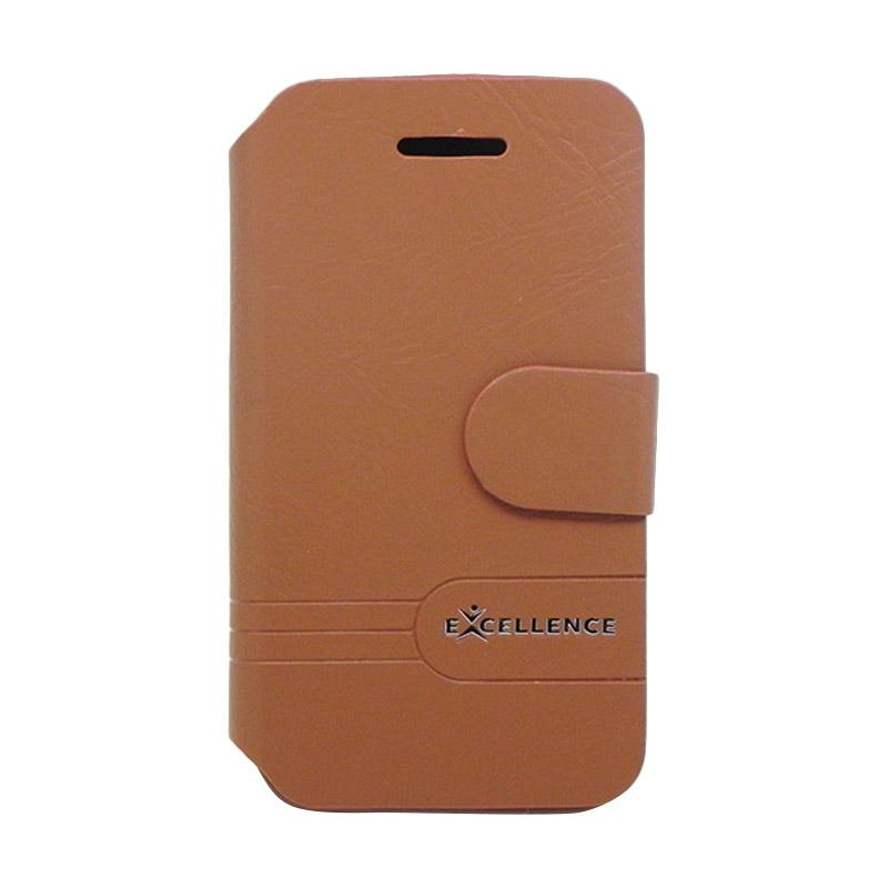 Excellence Dragonite Flip Cover Casing for iPhone 6 - Brown
