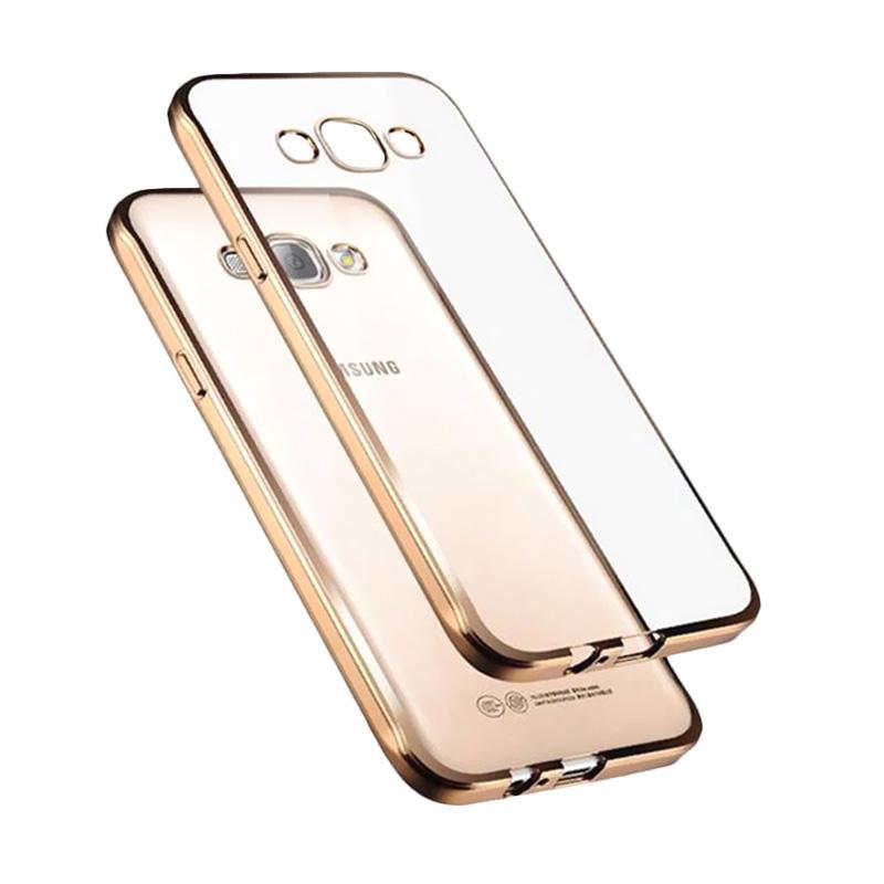 Likgus Tough Shield Casing for Samsung Galaxy J5 Plus - Rose Gold