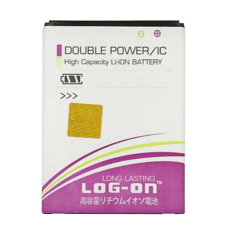 Log On Double Power Baterai for Evercoss Winner T2 or A74M [4000 mAh]