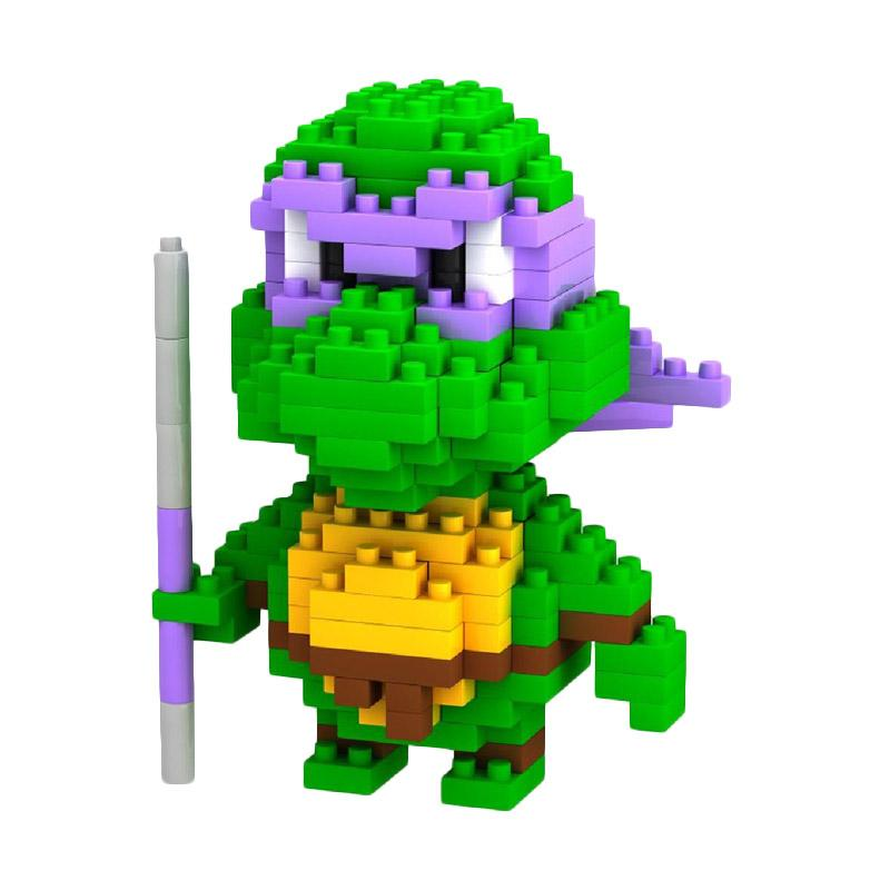 Loz Gift Purple Turtle 9148 Mainan Blok dan Puzzle [Medium]