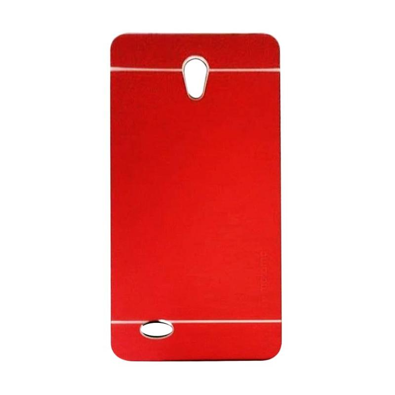 Motomo Metal Hardcase Backcase Casing for Oppo Joy 3 or A11W - Red