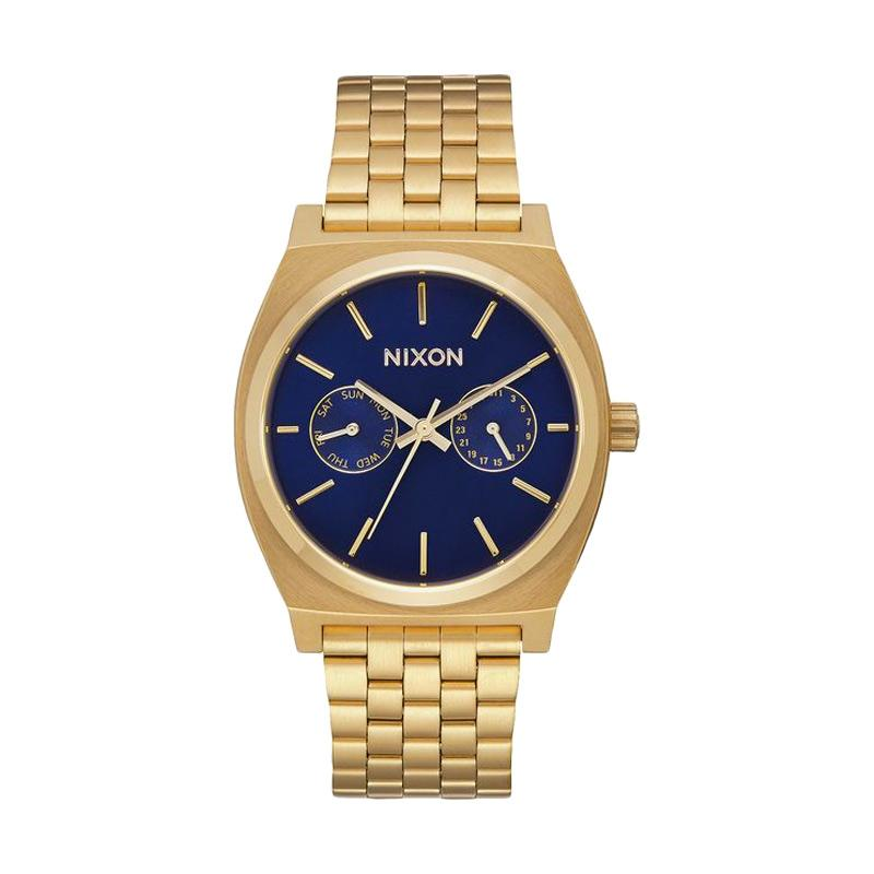 Nixon A9222347 Time Teller Deluxe Analog Watch Jam Tangan Pria - Gold