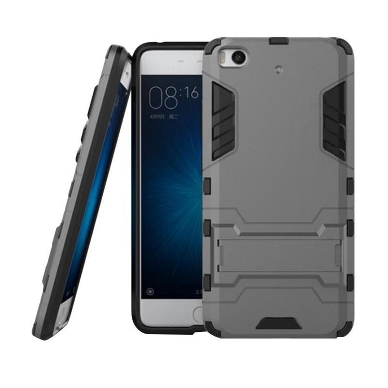 OEM Transformer Robot Iron Man Casing for Xiaomi 5s 5.15 Inch - Grey