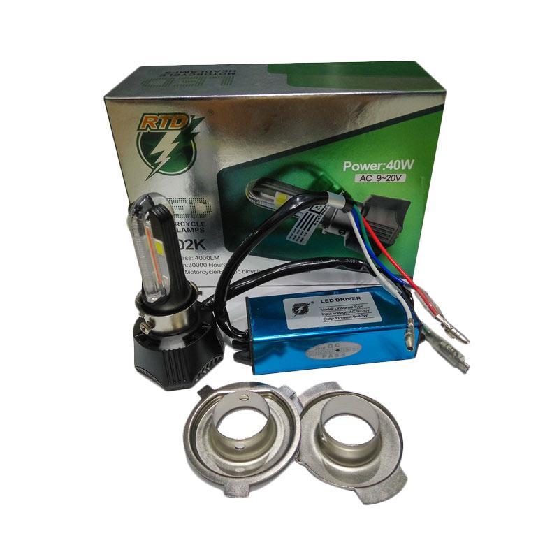 harga RTD LED Lampu Utama and Lampu Senja for Motor or Mobil [H4/H6/Hs1 Ac/Dc 40 W/Hi Lo] Blibli.com