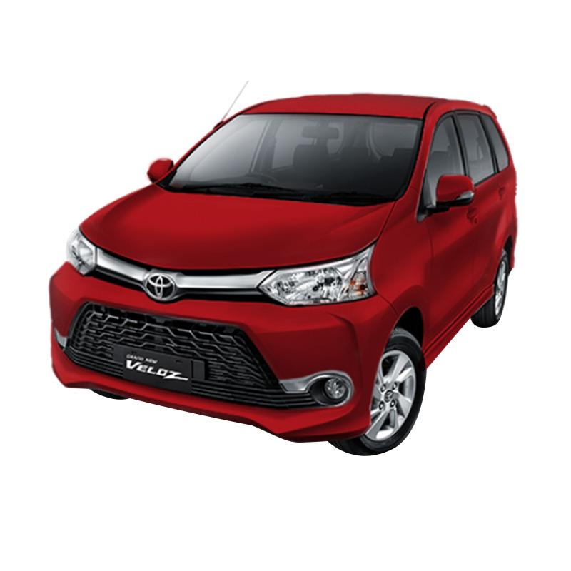Toyota Grand New Avanza 1.3 Veloz Mobil - Dark Red Mica Metallic