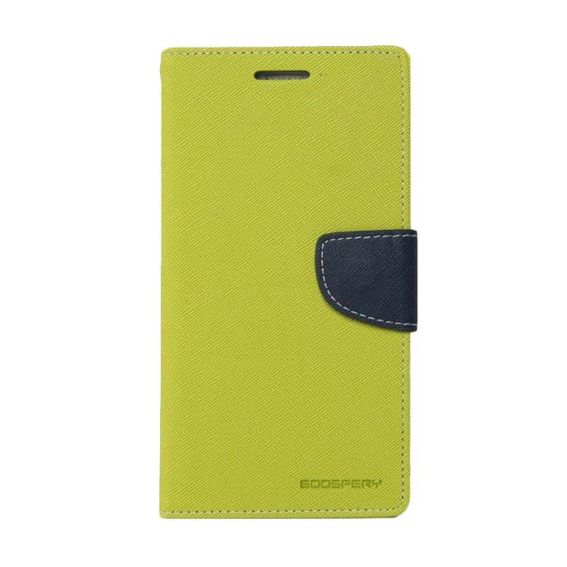 Mercury Fancy Diary Casing for Xiaomi Mi4 - Mint Biru Laut