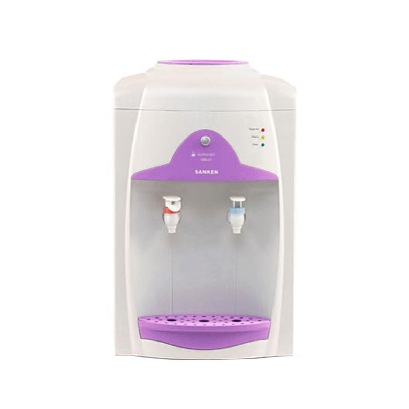 Sanken HWN-676W Portable Water Dispenser [Top Loading/ 2 faucet]