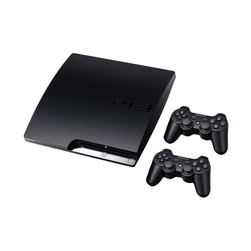 SONY PlayStation 3 Slim Game Console [HDD 320 GB/2 Stick Wireless]