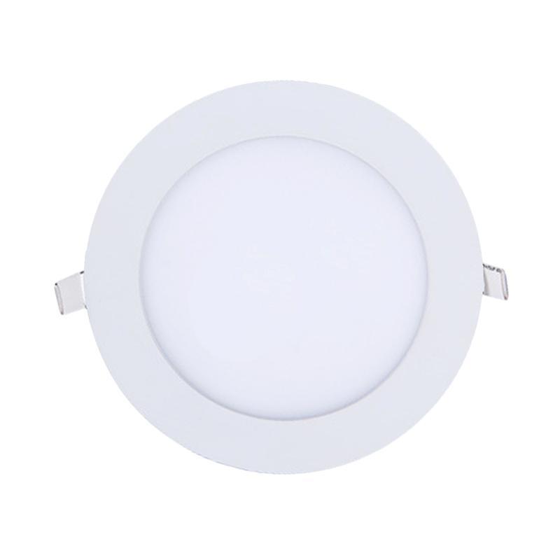 LED Round Downlight Panel Lampu - Warm White [6 W/Lifespan 50.000jam/Bergaransi]