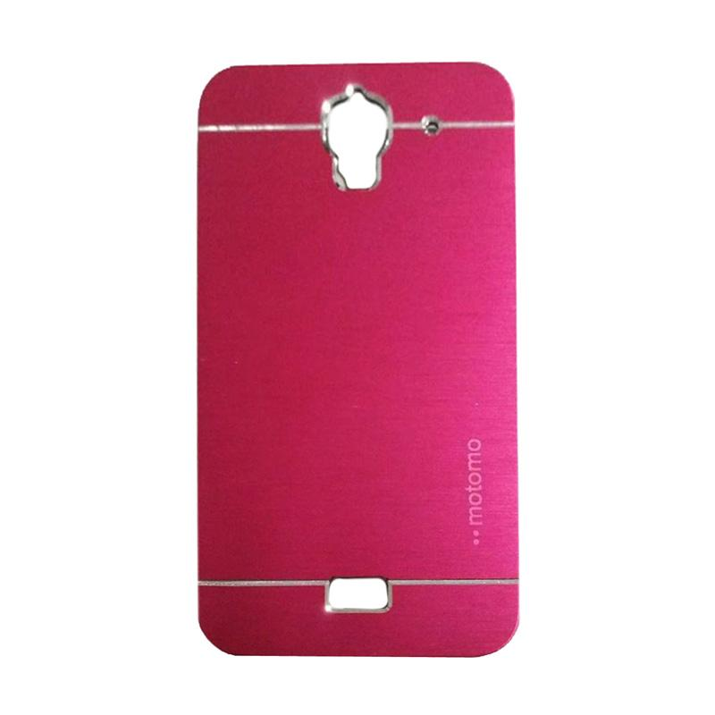 Motomo Metal Hardcase Backcase Casing for Huawei Y3 Batik - Pink