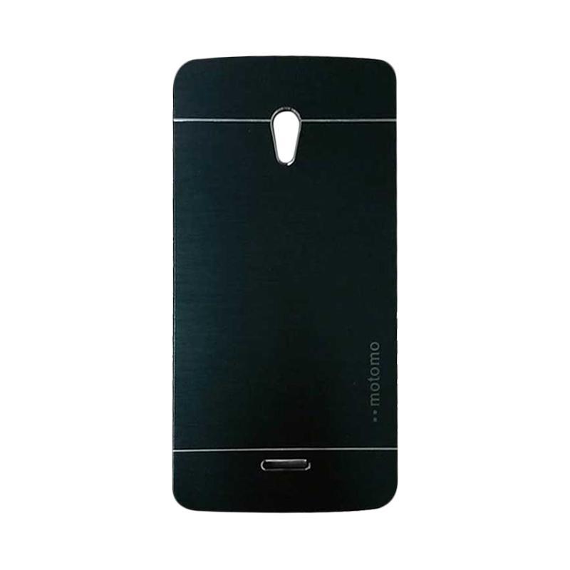 Motomo Metal Hardcase Backcase Casing for OPPO Joy or R1001 - Black