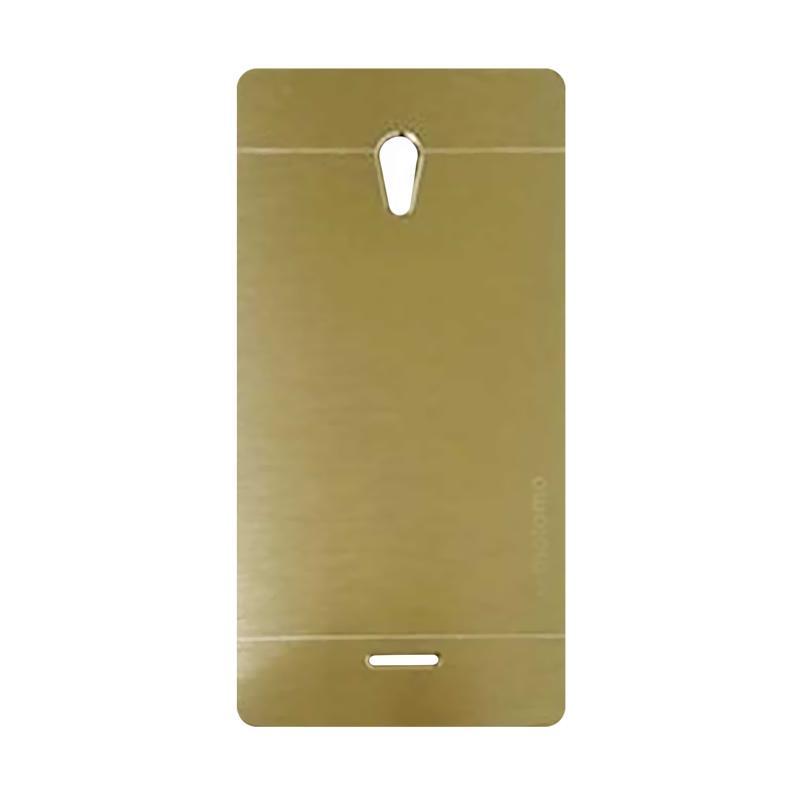 Motomo Metal Hardcase Backcase Casing for OPPO Joy or R1001 - Gold
