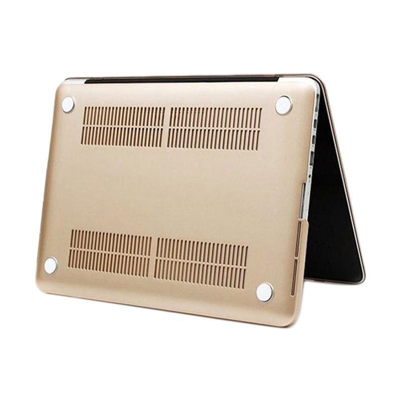 OEM MacShield Polycarbonate Case for Macbook Pro Retina 13 Inch - Gold