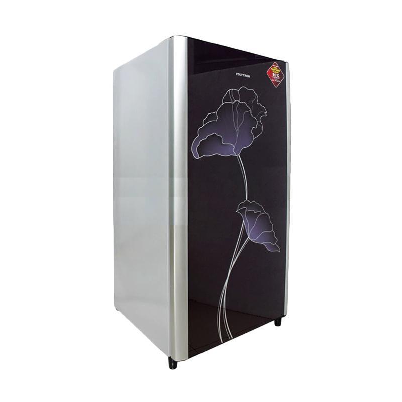 POLYTRON PRO16AGVN One Door Refrigerator - Violet [160 L]