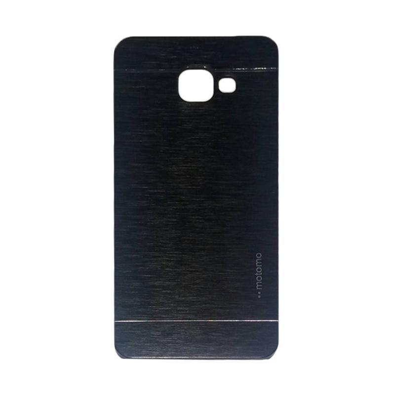 Motomo Metal Hardcase Casing for Samsung Galaxy A510 or A5 2016 - Black