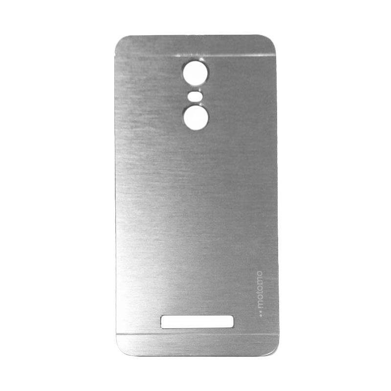 Motomo Metal Hardcase Casing for Xiaomi Redmi Note 3 - Silver